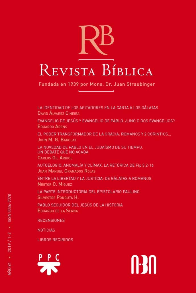 Revista Biblica 81