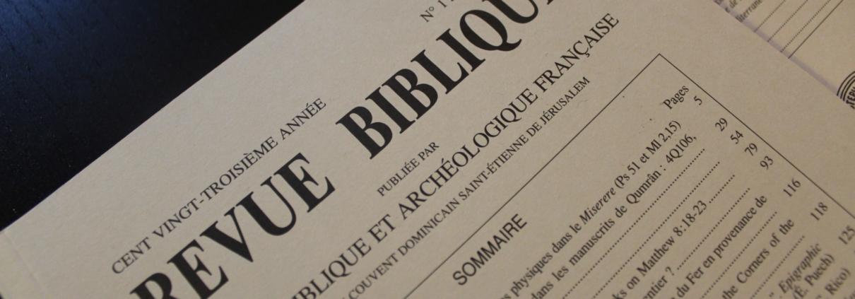 Revista Biblica